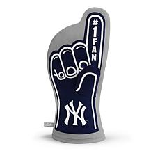 Officially Licensed MLB #1 Oven Mitt - New York Yankees