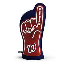 Officially Licensed MLB #1 Oven Mitt - Washington Nationals