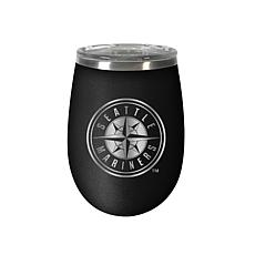Officially Licensed MLB 12 oz. Stealth Wine Tumbler - Seattle Mariners