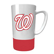 Officially Licensed MLB  15 oz. Jump Mug w/Silicone Grip - Nationals