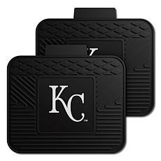 Officially Licensed MLB 2-Piece Utility Mat Set - Kansas City Royals