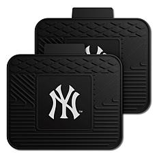 Officially Licensed MLB 2-Piece Utility Mat Set - New York Yankees