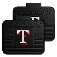 Officially Licensed MLB 2-Piece Utility Mat Set - Texas Rangers