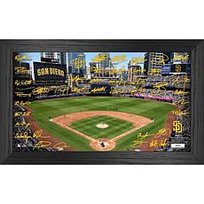 Officially Licensed MLB 2021 Signature Field Photo Frame - San Diego