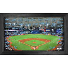 Officially Licensed MLB 2021 Signature Field Photo Frame - Tampa Bay