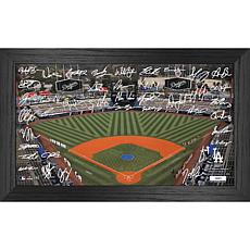 Officially Licensed MLB 2021 Signature Field Photo Frame - LA Dodgers