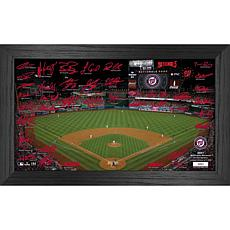 Officially Licensed MLB 2021 Signature Field Photo Frame - Washington