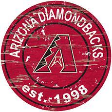 "Officially Licensed MLB 24"" Established Date Sign - Diamondbacks"