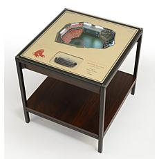 Officially Licensed MLB 25-Layer StadiumViews End Table - Boston