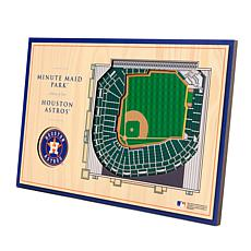 Officially-Licensed MLB 3-D StadiumViews Display - Houston Astros