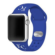 Officially Licensed MLB 38/40mm Apple Watch Band - Kansas City Royals