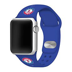 Officially Licensed MLB 38/40mm Apple Watch Band - Texas Rangers