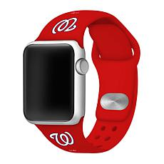 Officially Licensed MLB 38/40mm Apple Watch Band - WA Nationals