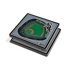 Officially Licensed MLB 3D StadiumViews Coaster Set- Chicago White Sox