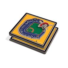 Officially Licensed MLB 3D StadiumViews Coasters - Pittsburgh Pirates