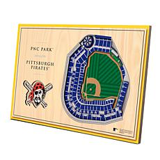 Officially-Licensed MLB 3D StadiumViews Display - Pittsburgh Pirates
