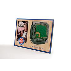 Officially Licensed MLB 3D StadiumViews Frame - Chicago Cubs