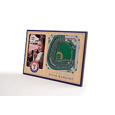 Officially Licensed MLB 3D StadiumViews Frame - Texas Rangers