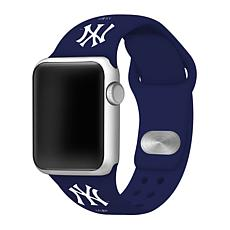 Officially Licensed MLB 42/44mm Apple Watch Band - New York Mets