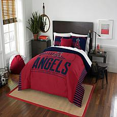 Officially Licensed MLB 849 Grand Slam F/Q Comforter Set - Angels