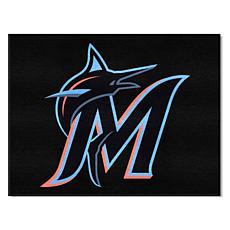 Officially Licensed MLB All-Star Door Mat - Miami Marlins