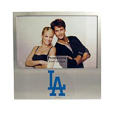 Officially Licensed MLB Aluminum Picture Frame - Los Angeles Dodgers