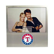 Officially Licensed MLB Aluminum Picture Frame - Texas Rangers