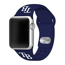 Officially Licensed MLB Apple Watchband 42/44mm - Tampa Bay Rays