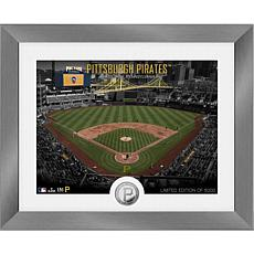 Officially Licensed MLB Art Deco Silver Coin Photo Mint - Pittsburgh
