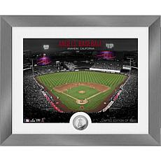 Officially Licensed MLB Art Deco Silver Coin Photo Mint - LA. Angels