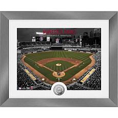 Officially Licensed MLB Art Deco Silver Coin Photo Mint - Minnesota