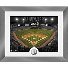 Officially Licensed MLB Art Deco Silver Coin Photo Mint - White Sox