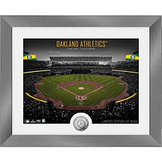 Officially Licensed MLB Art Deco Silver Coin Photo Mint - Oakland