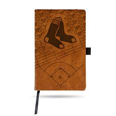 Officially Licensed MLB Brown Notepad - Boston Red Sox