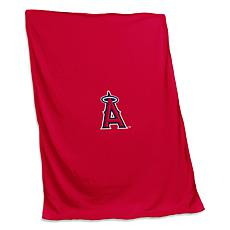 Officially Licensed MLB by Logo Chair Sweatshirt Blanket - Angels