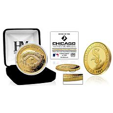 Officially Licensed MLB Chicago White Sox Stadium Gold Mint Coin