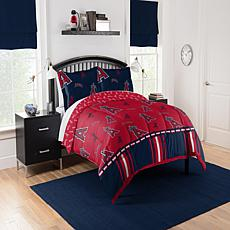 Officially Licensed MLB Full Bed In a Bag Set - Los Angeles Angels