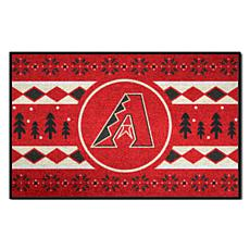 Officially Licensed MLB Holiday Sweater Mat - Arizona Diamondbacks
