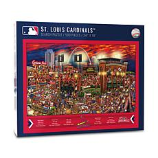 Officially Licensed MLB Joe Journeyman Puzzle - St. Louis Cardinals