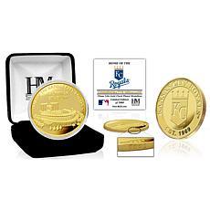 Officially Licensed MLB Kansas City Royals Stadium Gold Mint Coin