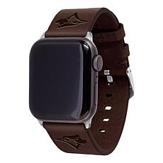 Officially Licensed MLB Leather Band for Apple Watch 38/40mm - Toronto