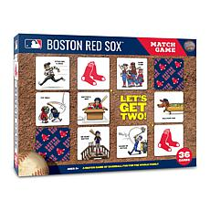 Officially Licensed MLB Licensed Memory Match Game - Boston Red Sox