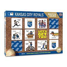 Officially Licensed MLB Licensed Memory Match Game - Kansas City