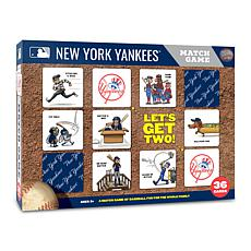 Officially Licensed MLB Licensed Memory Match Game - New York Yankees