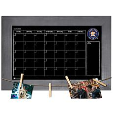 Officially Licensed MLB Monthly Chalkboard - Houston Astros