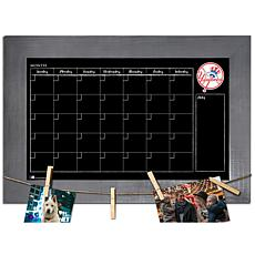Officially Licensed MLB Monthly Chalkboard - New York Yankees
