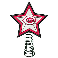 Officially Licensed MLB Mosaic Tree Topper - Reds