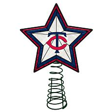 Officially Licensed MLB Mosaic Tree Topper - Twins