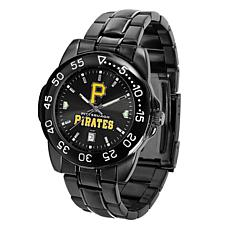 Officially Licensed MLB Pittsburgh Pirates P Logo Fantom Series Watch