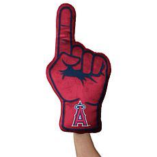 Officially Licensed MLB Plushlete Fan Finger Pillow - LA Angels
